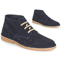 Schuhe Herren Boots Selected ROYCE DESERT LIGHT SUEDE Marine