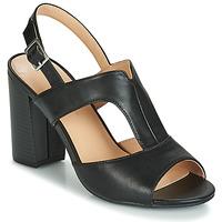 Schuhe Damen Sandalen / Sandaletten Moony Mood JALILIA Schwarz