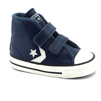 Schuhe Kinder Sneaker High Converse CON-I18-762010C-NA Blu