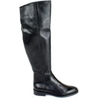 Schuhe Damen Klassische Stiefel Divine Follie DIV-I18-NELLYD66-NE Nero