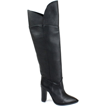 Schuhe Damen Klassische Stiefel Divine Follie DIV-I18-STC102-NE Nero