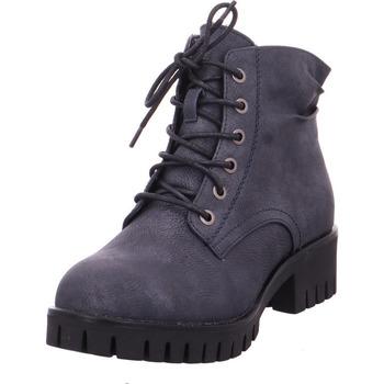 Schuhe Damen Stiefel Stiefel - 99330-14 denim