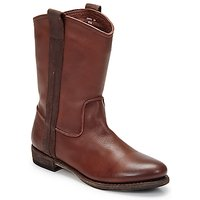 Schuhe Herren Boots Blackstone BOLOGNA HORSES Braun