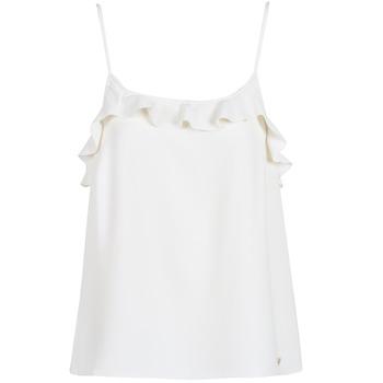 Kleidung Damen Tops Les Petites Bombes AZITAFE Weiss