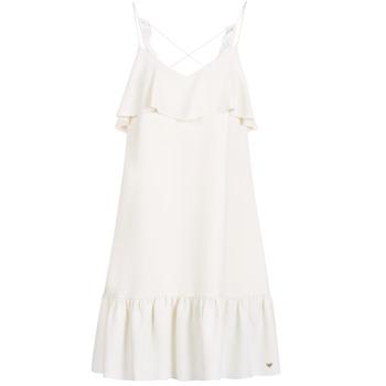 Kleidung Damen Kurze Kleider Les Petites Bombes AZITARBE Weiss
