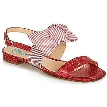 Schuhe Damen Sandalen / Sandaletten Paco Gil BOMBAY Rot