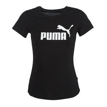 Kleidung Damen T-Shirts Puma PERMA ESS TEE Schwarz