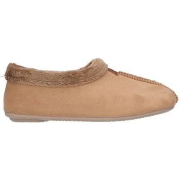 Schuhe Damen Hausschuhe Norteñas 10-134 Mujer Beige beige
