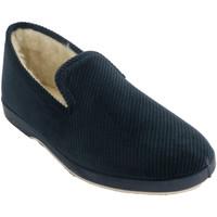 Schuhe Herren Hausschuhe Made In Spain 1940 Zapatillas Corduroy Mann Soca marineblau Blau