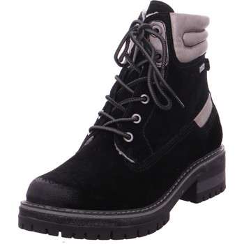 Schuhe Damen Stiefel Stiefelette Woms Boots BLACK