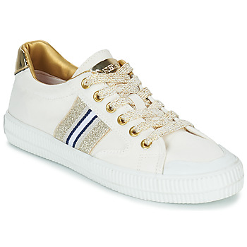 Schuhe Damen Sneaker Low Replay EXTRA Weiss / Gold