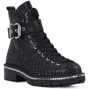 Schuhe Damen Ankle Boots Elvio Zanon SELLERIA Nero