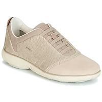 Schuhe Damen Sneaker Low Geox D NEBULA Beige / Creme