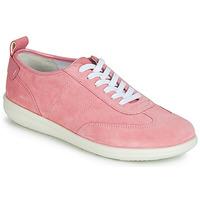 Schuhe Damen Sneaker Low Geox D JEARL Rose