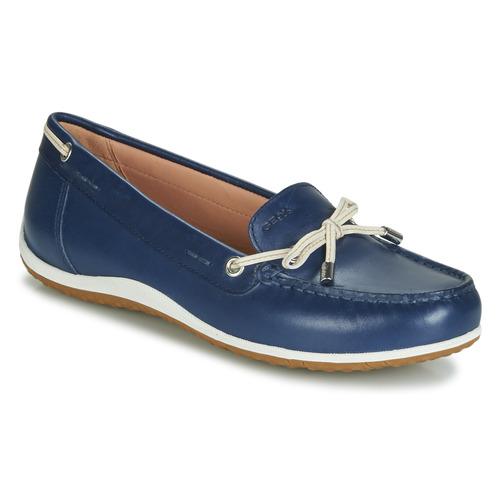 Geox Geox Geox D VEGA MOC Blau  Schuhe Slipper Damen 38b3b9