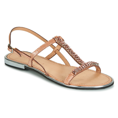 Geox D SOZY PLUS Bronze  Schuhe Sandalen / Sandaletten Damen