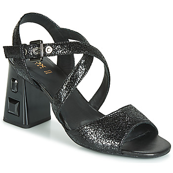 Schuhe Damen Sandalen / Sandaletten Geox D SEYLA S. HIGH PLUS Schwarz