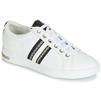 Schuhe Damen Sneaker Low Geox D JAYSEN Weiss