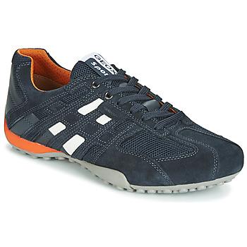 Schuhe Herren Sneaker Low Geox UOMO SNAKE Marine
