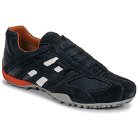 Schuhe Herren Sneaker Low Geox UOMO SNAKE Blau / Schwarz