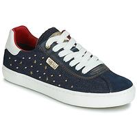 Schuhe Mädchen Sneaker Low Geox J KILWI GIRL Marine