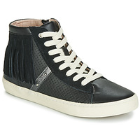 Schuhe Mädchen Sneaker High Geox J KILWI GIRL Schwarz