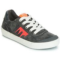 Schuhe Jungen Sneaker Low Geox J KILWI BOY Grau / Orange