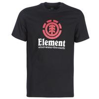 Kleidung Herren T-Shirts Element VERTICAL SS Schwarz