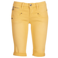 Kleidung Damen Shorts / Bermudas Freeman T.Porter Belixa New Magic Color Gelb