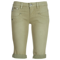 Kleidung Damen Shorts / Bermudas Freeman T.Porter Belixa New Magic Color Kaki