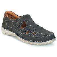 Schuhe Herren Sandalen / Sandaletten Josef Seibel ANVERS 82 Blau