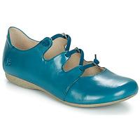 Schuhe Damen Ballerinas Josef Seibel FIONA 04 Blau