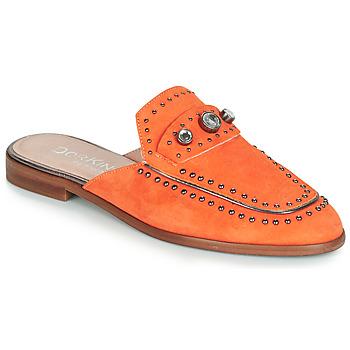 Schuhe Damen Pantoffel Dorking 7783 Orange