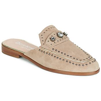 Schuhe Damen Pantoffel Dorking 7783 Maulwurf