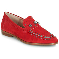 Schuhe Damen Slipper Dorking 7782 Rot