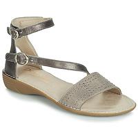 Schuhe Damen Sandalen / Sandaletten Dorking 7863 Grau