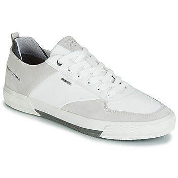 Schuhe Herren Sneaker Low Geox KAVEN A Weiss