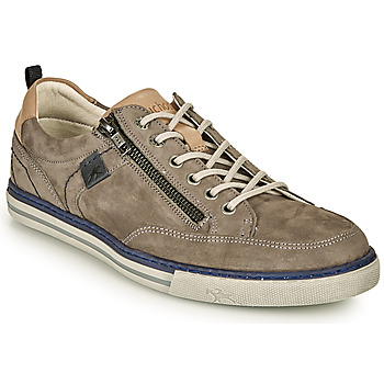 Schuhe Herren Sneaker Low Fluchos QUEBEC Grau