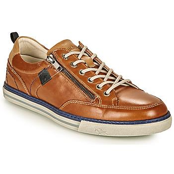 Schuhe Herren Sneaker Low Fluchos QUEBEC Braun