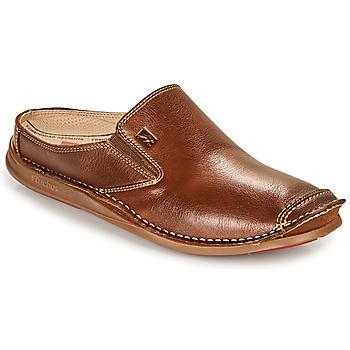 Schuhe Herren Pantoffel Fluchos NAUTILUS Braun