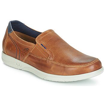 Schuhe Herren Slip on Fluchos SUMATRA Braun