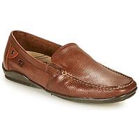 Schuhe Herren Slipper Fluchos BALTICO Braun