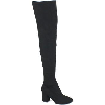 Schuhe Damen Kniestiefel Gioseppo GIO-I18-46485-BL Nero