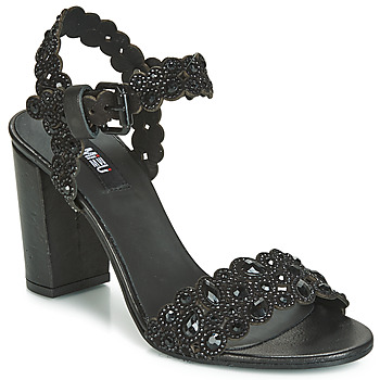 Schuhe Damen Sandalen / Sandaletten Mimmu 567Z14 Schwarz