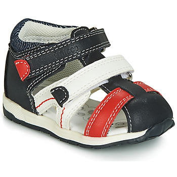 Schuhe Jungen Sandalen / Sandaletten Chicco GABRIEL Blau / Weiss / Rot