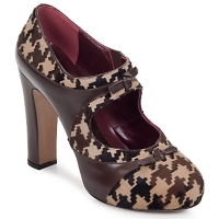 Schuhe Damen Pumps Antonio Marras ALINA Braun