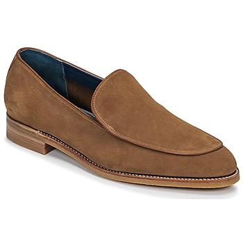 Schuhe Herren Slipper Barker TOLEDO Braun