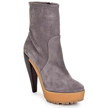 Schuhe Damen Low Boots Kallisté BOTTINE 5959 Marine / Himmelblau