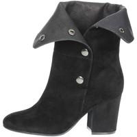 Schuhe Damen Low Boots Luciano Barachini BB245A Schwarz