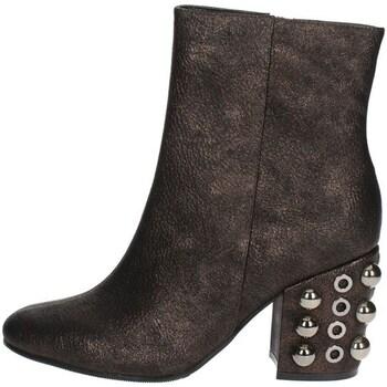 Schuhe Damen Low Boots Luciano Barachini BB242U Halbstiefel Mit Absatzt Damen  Bronze  Bronze